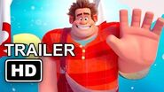 WRECK-IT RALPH 2 New Year Trailer (2018) Disney Animated Movie HD
