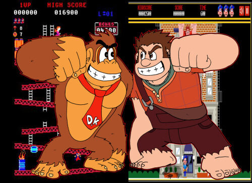 Ralph and DK