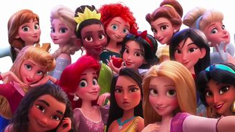 Disney Princesses Wreck It Ralph Wiki Fandom