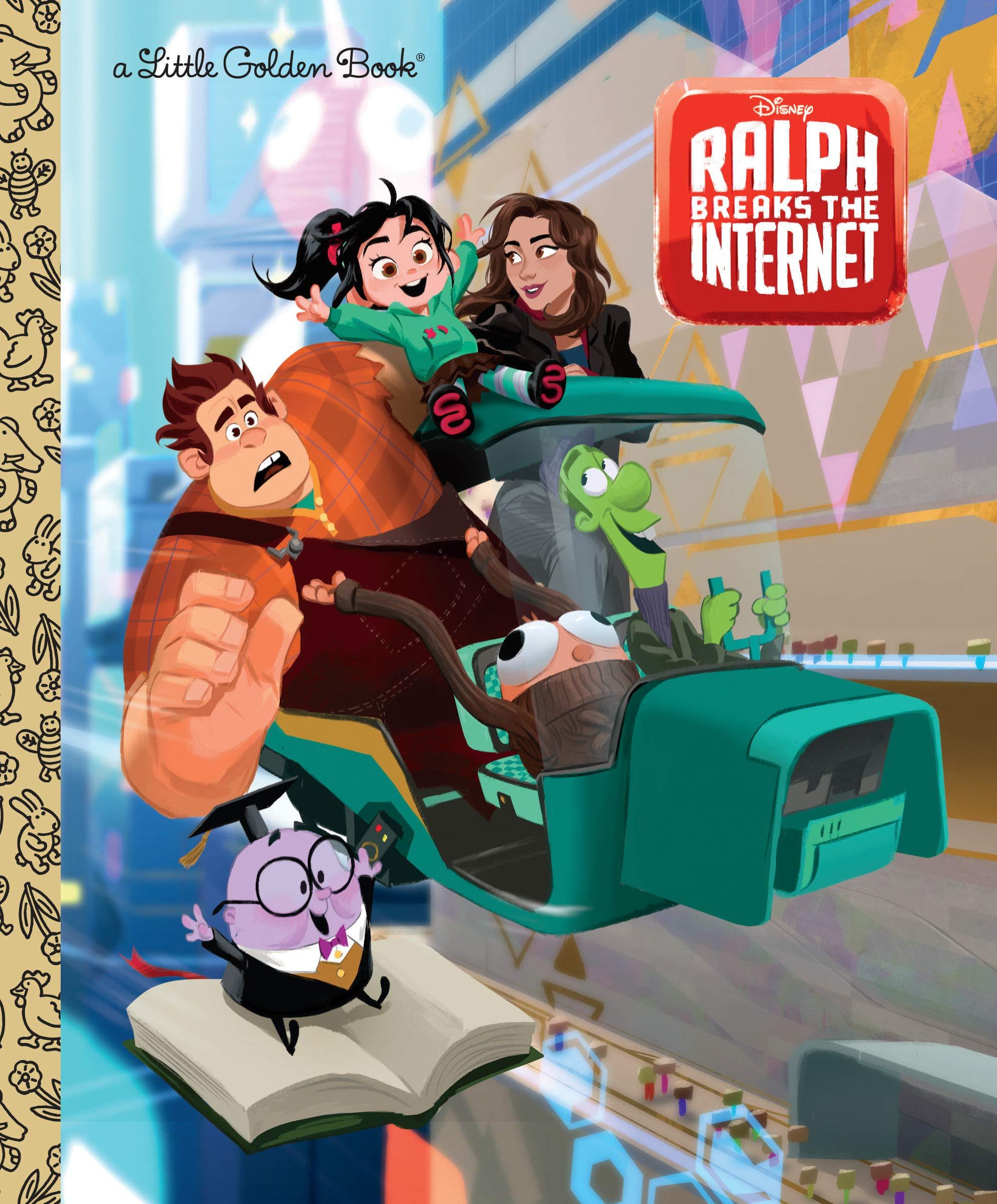 Ralph Breaks the Internet (Little Golden Book)