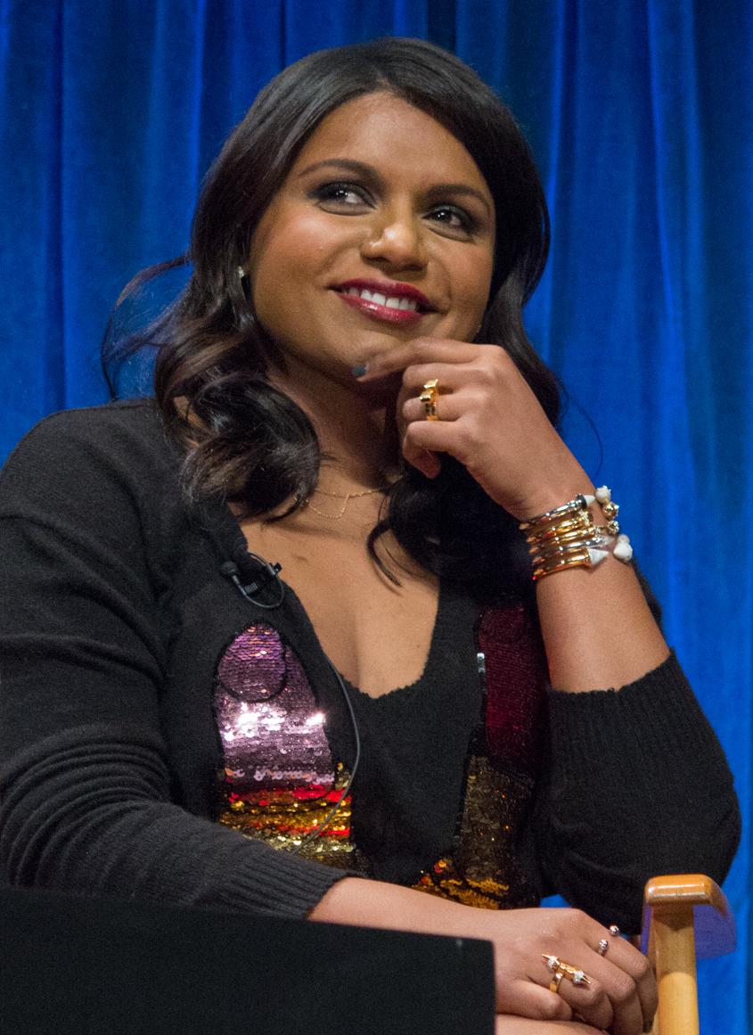 Mindy Kaling at PaleyFest 2013 (cropped).jpg
