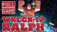 Wreck-It Ralph FULL GAME Longplay Walkthrough (Wii)