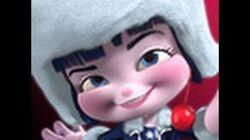 "SUGAR RUSH Racer 6, ""The Eskimo"" Adorabeezle Winterpop"