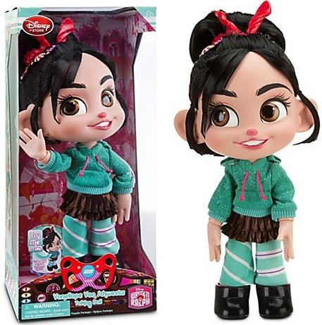 Cupcake Zombie/Which Vanellope Von Schweetz talking doll is better?