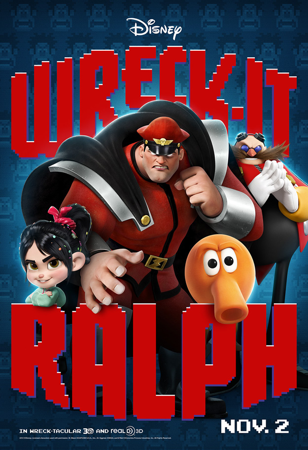 Gcheung28/New Wreck-It Ralph Posters