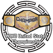 Button WWE US Title 2020
