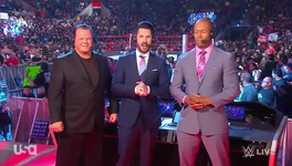 Raw Announcers 2020
