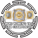 Button WWE Womens Tag