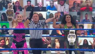 Natalya and Tamina win Tag Gold