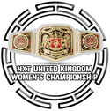 WWE United Kingdom Womens Championship Button