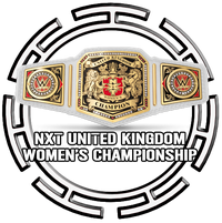 WWE United Kingdom Womens Championship Button