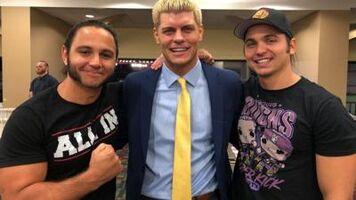 All Elite Wrestling Executives