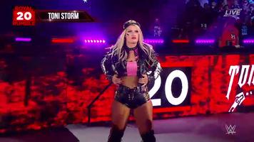 Toni Storm Royal Rumble 2020