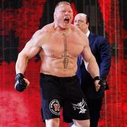 Brock Lesnar 2017