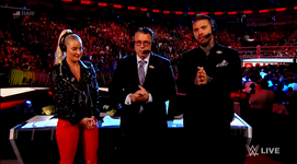Renee Young Raw Announce Team