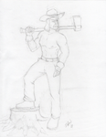 Lumberjacksketch