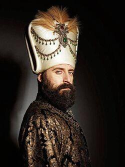 Halit Ergenc as Sultan Suleyman.jpg
