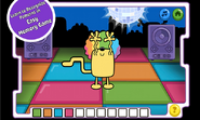 Disco Dancin' Wubbzy App (Amazon and Google Play) 4