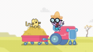 Wubbzy Getting a Hayride
