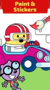 Wubbzy's Racecar (iPhone) 5