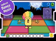 Disco Dancin' Wubbzy App (iPad) 5