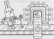 Wubbzy's Christmas - Ornament-Making Machine