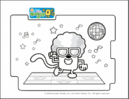 Disco Dancin' Wubbzy Printable