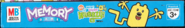 Memory Game Wow! Wow! Wubbzy! Edition - Box, Top Side