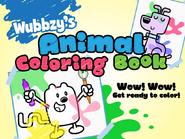 Wubbzy's Animal Coloring Book (iPad)