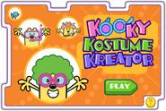 A Little Help From Your Friends - Kooky Kostume Kreator Title Screen
