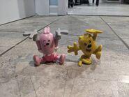 Springing Wubbzy & Winkin Widget Figures