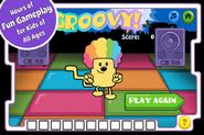 Disco Dancin' Wubbzy App (iPhone) 3
