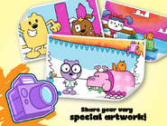 Wubbzy's Animal Coloring Book (iPad) 5