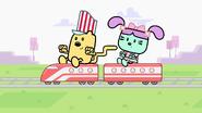 Wubbzy and Daizy Share Train Set