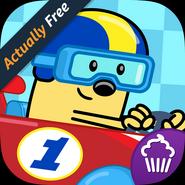 Wubbzy's Racecar App Icon (Free)