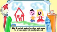 Wubbzy's Animal Coloring Book (iPhone) 3