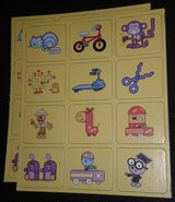 Memory Game Wow! Wow! Wubbzy! Edition - Yellow Card Sets