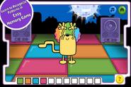 Disco Dancin' Wubbzy App (iPhone) 2