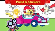 Wubbzy's Racecar (Amazon and Google Play) 5