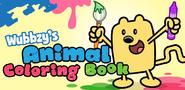 Wubbzy's Animal Coloring Book Banner