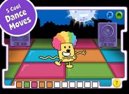 Disco Dancin' Wubbzy App (iPad) 4