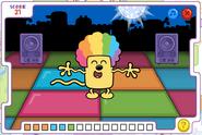 Disco Dancin' Wubbzy Wubbzy's Dance 4