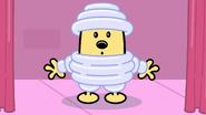 TBWC - Wubbzy Wearing Puffy Costume
