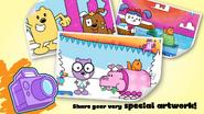 Wubbzy's Animal Coloring Book (iPhone) 5