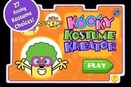 Kooky Kostume Kreator Title Screen (iPhone)