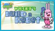 Widget's Build a Robot Title Screen