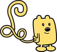 Decal - Curly-Tailed Wubbzy