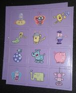 Memory Game Wow! Wow! Wubbzy! Edition - Purple Card Sets