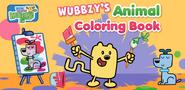 Wubbzy's Animal Coloring Book Banner 2