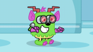 TGoW - Wubbzy Dressed Up as the Hairy, Scary Monster From Planet Doom